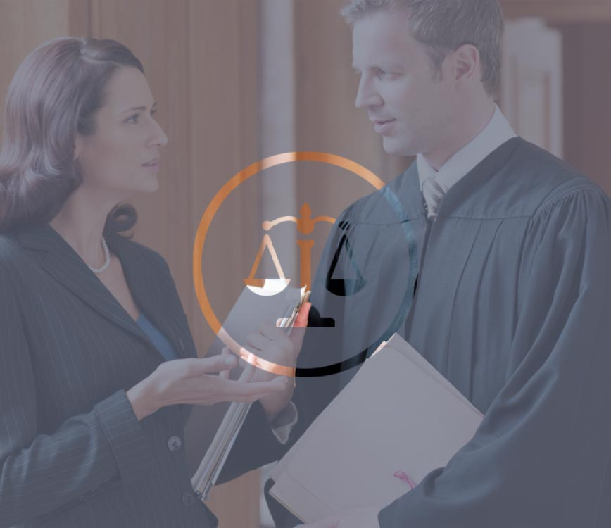 male and female accident lawyer